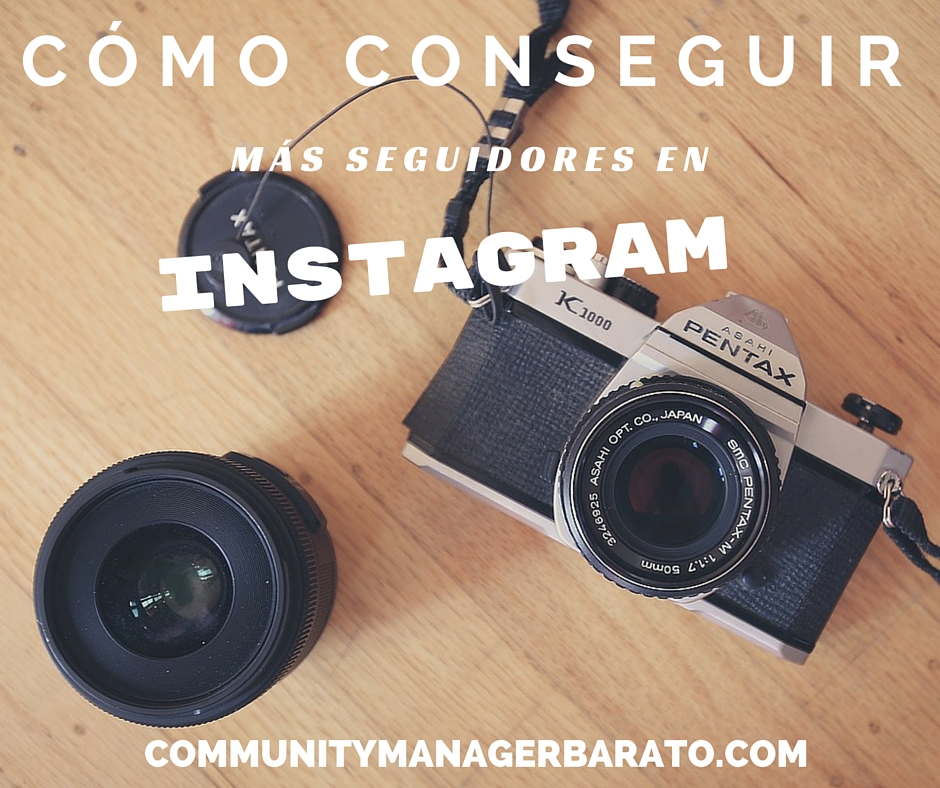 Conseguir más followers en Instagram